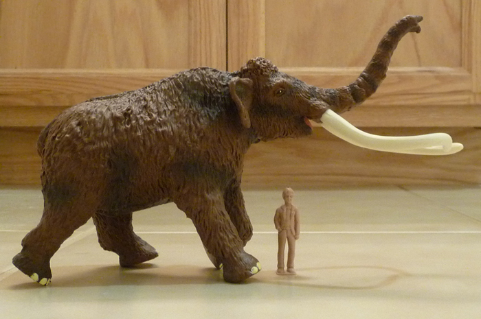 Woolly Mammoth Steppe Figure